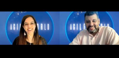 Agile World Espanol Alexandra Oporto and Jorge Ulsen Rivas