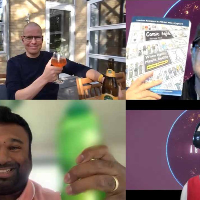 Comic Agile with Meet Luxshan Ratnaravi & Mikkel Noe-Nygaard S05 E01